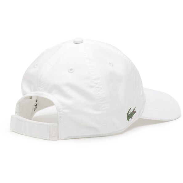 LACOSTE DRY FIT CAP WHITE