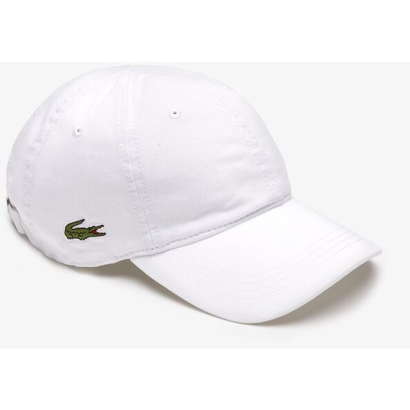 LACOSTE SIDE CROC CAP WHITE