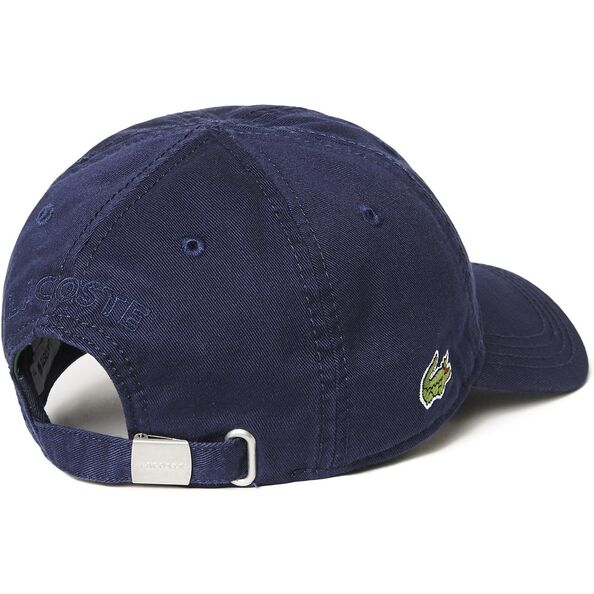 Lacoste Side Croc Cap Navy