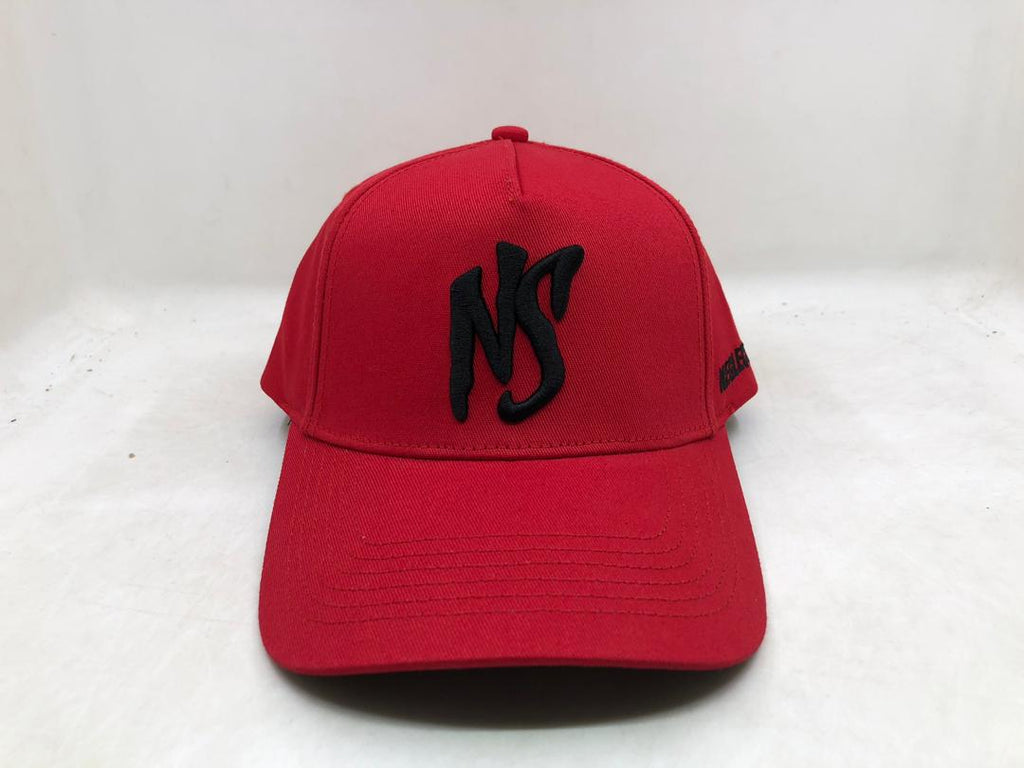 NS  Aframe Flexband Youth Red-Black Snapback