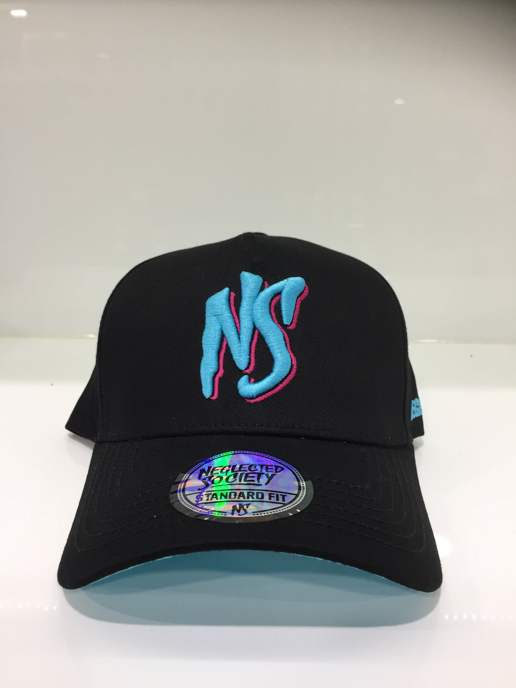 NS Standard fit Miami Aframe Snapback Black