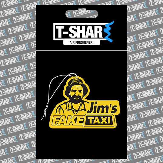 Jims FAKE TAXI Air freshener Black Ice