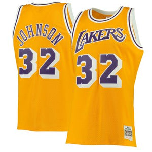 Lakers JOHNSON 32 Home 84-85 swingman jersey
