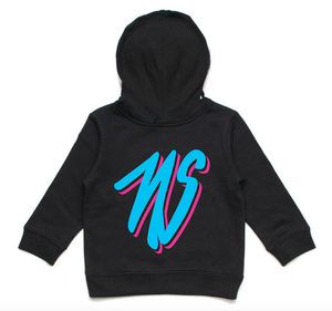 Neglected Society Miami Script Hoodie Black youth