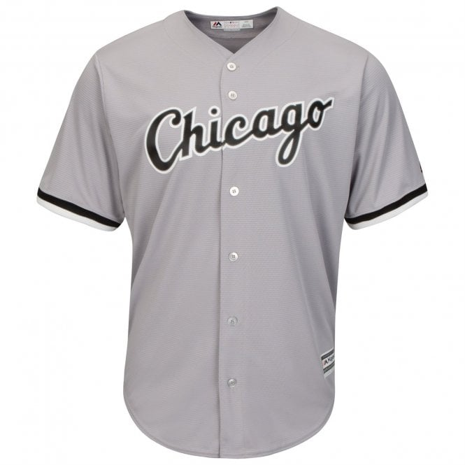 Chicago White Sox Road Cool Base Jersey Grey