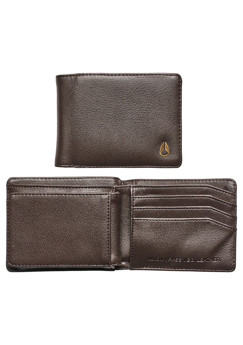 Pass Vegan Leather Brown