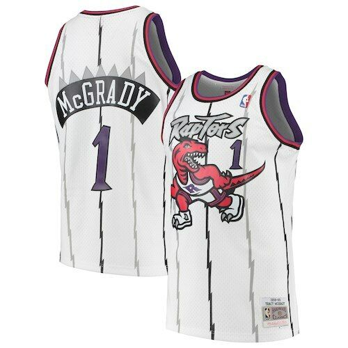 NBA Swingman Jersey RAPTORS 98-99 MCGRADY 1 (WHITE)