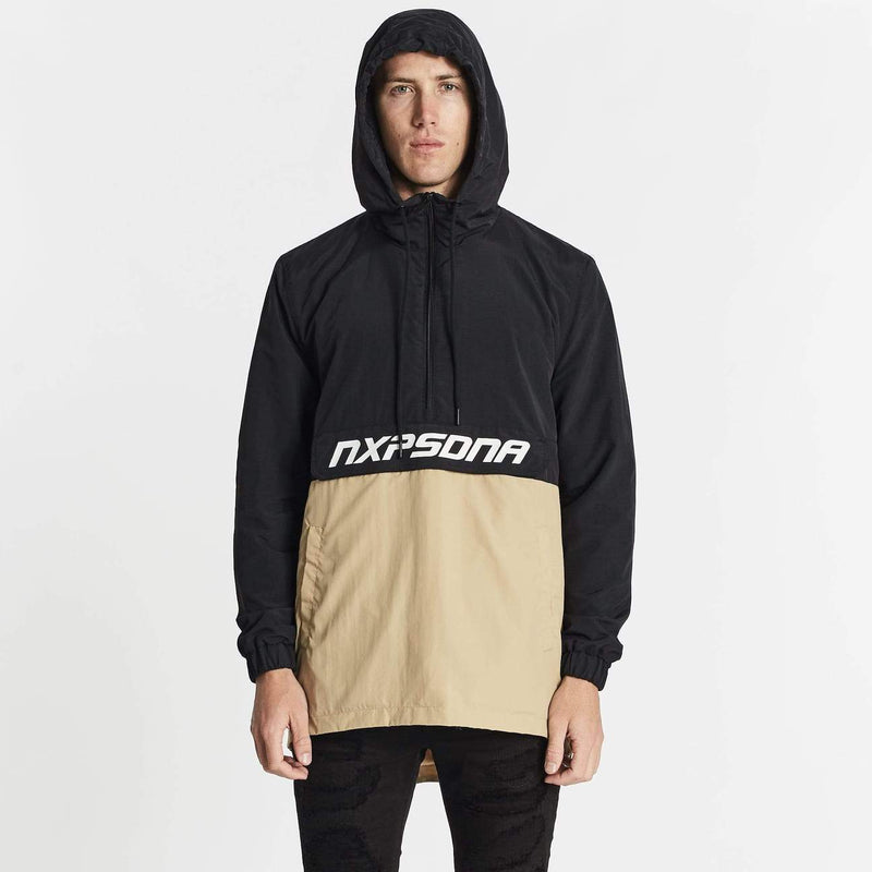 Sanford Spray Jacket Black Sand