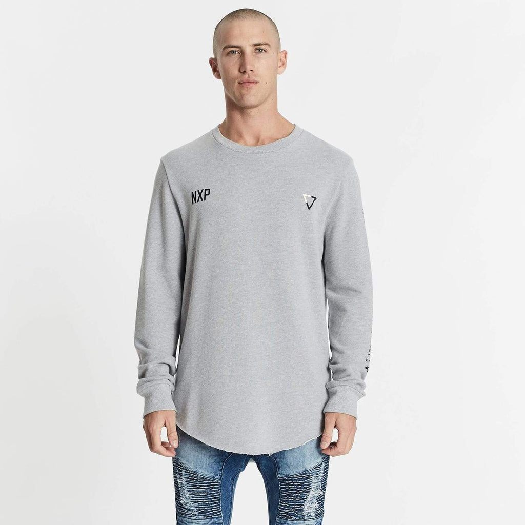 Search for Freedom Crew Sweater Grey Marle