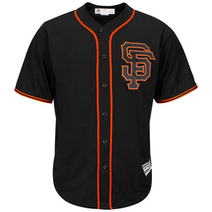 SF Giants Alt Cool Base Jersey Black