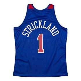Strickland BULLETS 96-97 (royal) Swingman Jersey