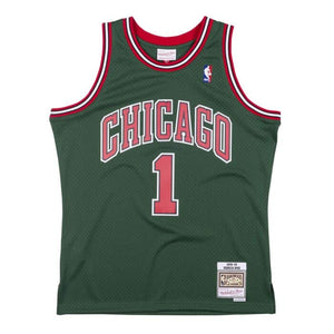 BULLS ROSE 1 Green Week Alt 08-09 Swingman Jersey