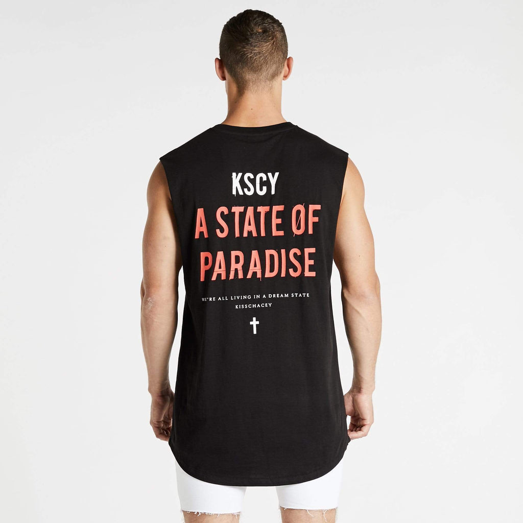 State Of Paradise Dual Curved Muscle Jet Black