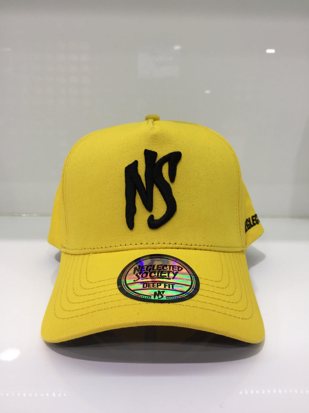 NS Aframe Flexband Yellow/Black DF Snapback (DeepFIT) Cap