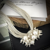 Cultured Freshwater Pearl Multi Strand Necklace