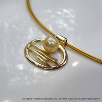 Pearl Pendant Horizontal Falls Staircase to the Moon 9cty golden pearl - Broome Staircase Designs Pearl Gallery