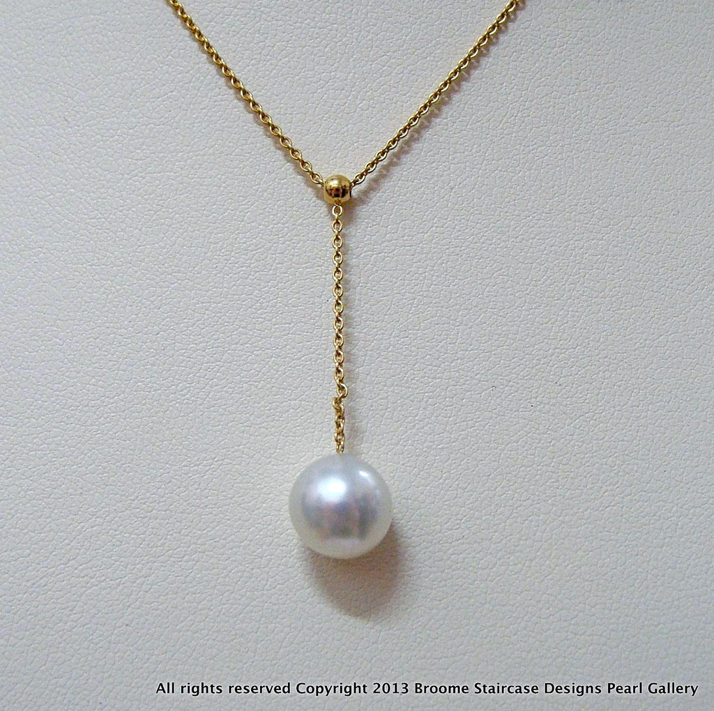 18ct Broome Pearl Necklace - Broome Staircase Designs Pearl Gallery - 1
