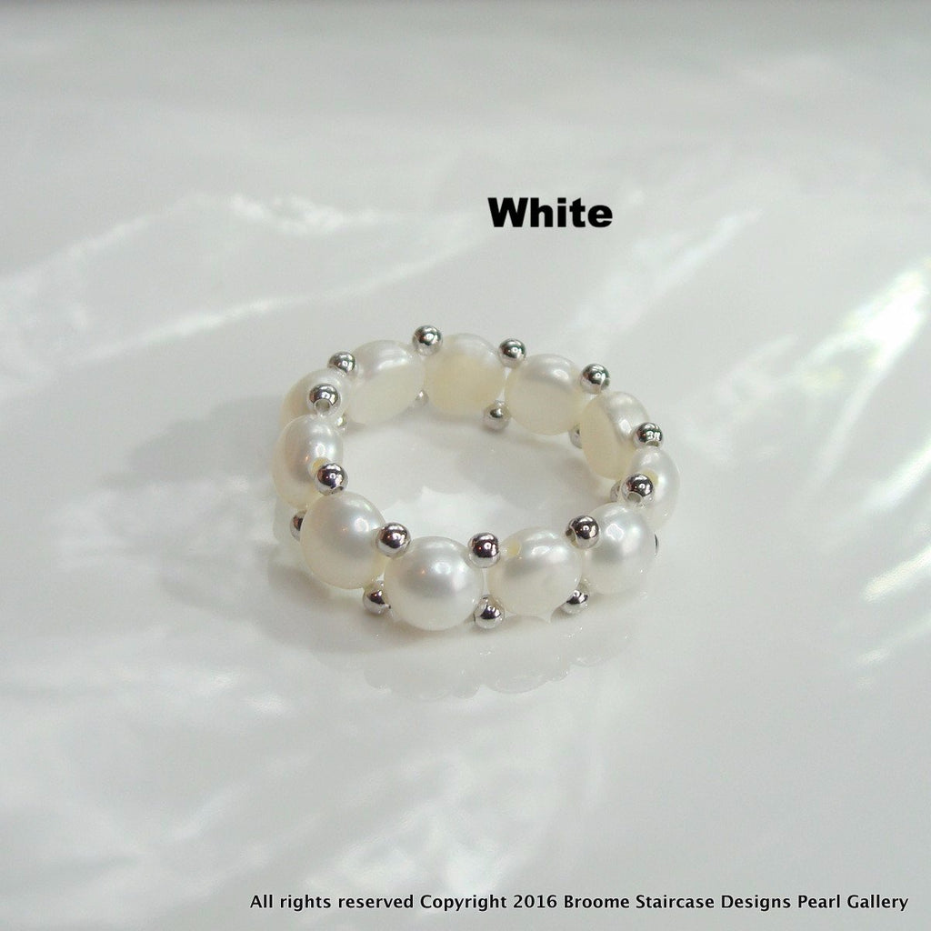 Cultured Pearl Ring - Broome Staircase Designs Pearl Gallery - 3