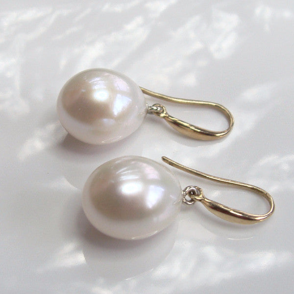 Cultured Pearl Earrings - Broome Staircase Designs Pearl Gallery - 1