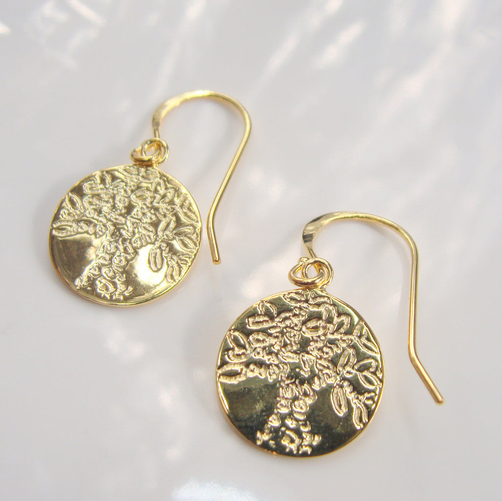 Boab Tree  Earrings - Broome Staircase Designs Pearl Gallery - 1