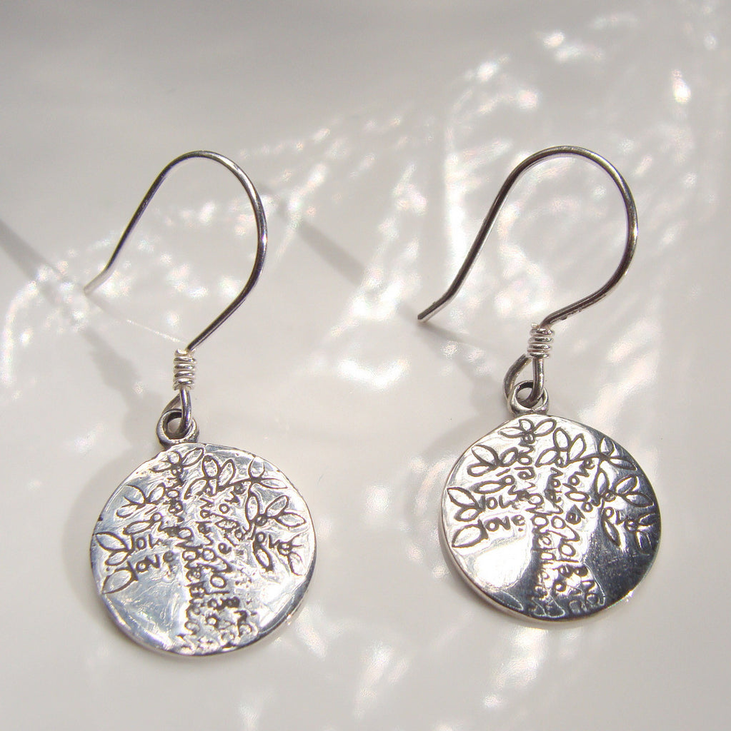 Boab Tree  Earrings - Broome Staircase Designs Pearl Gallery