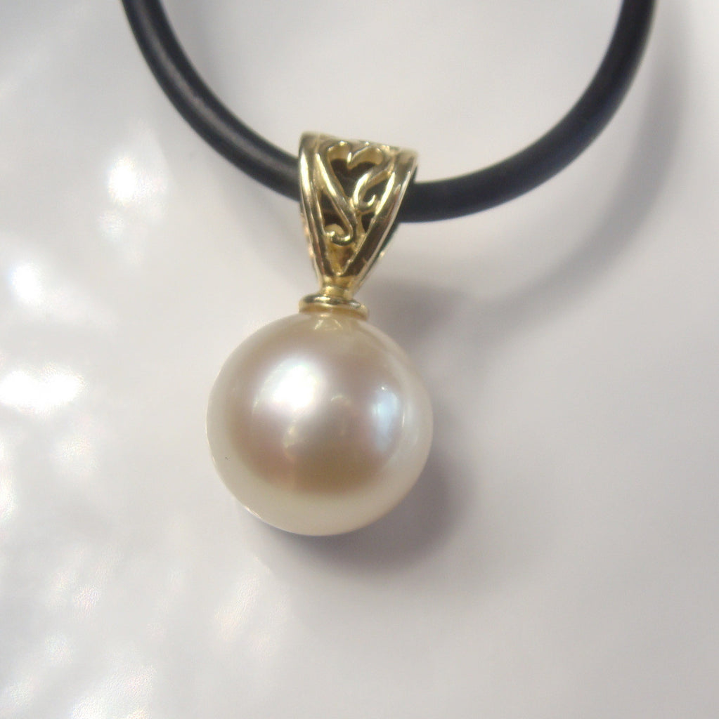 Broome South Sea Pearl Pendant 18cty