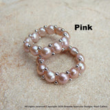 Stretchy Cultured Freshwater Pearl Ring