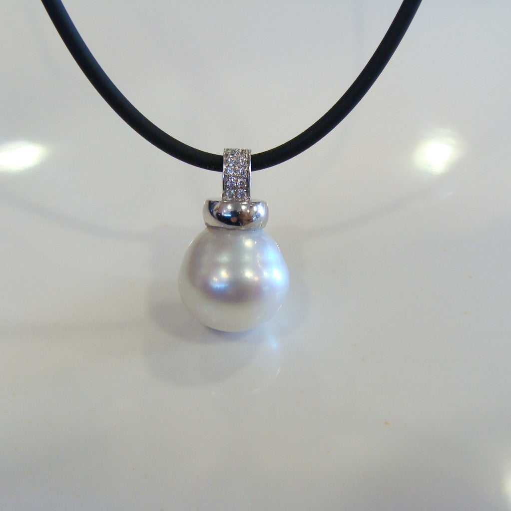 Australian South Sea Pearl Pendant - Broome Staircase Designs Pearl Gallery - 1