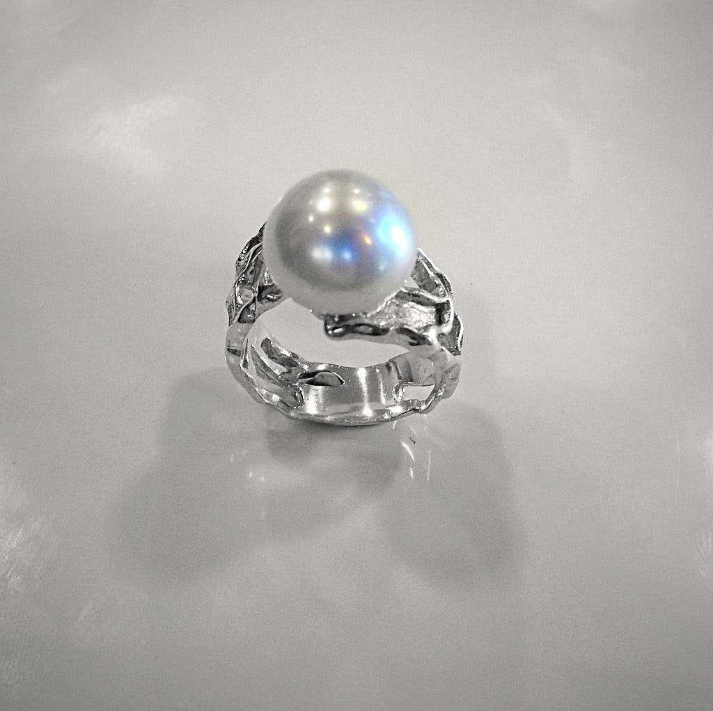Australian South Sea Pearl Ring - Broome Staircase Designs Pearl Gallery - 1