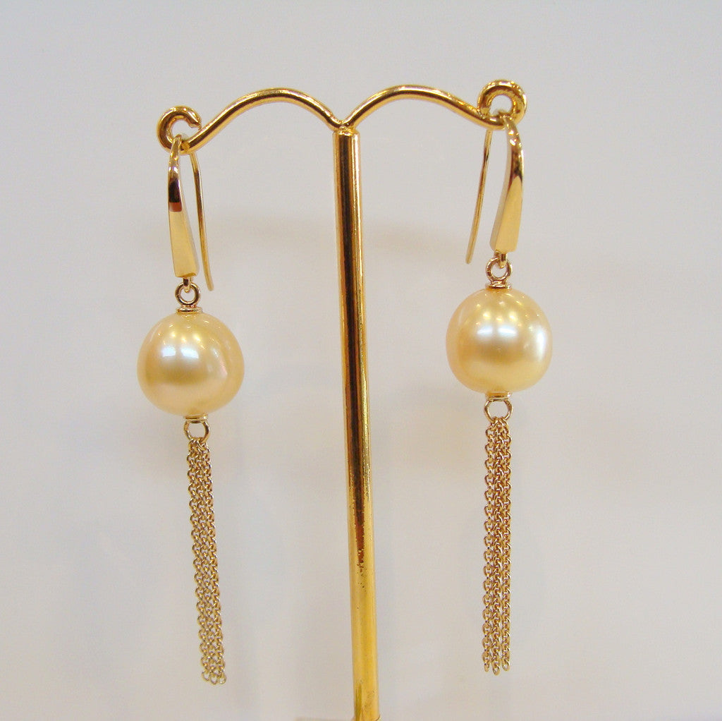 Australian South Sea Pearl Earrings - Broome Staircase Designs Pearl Gallery - 1