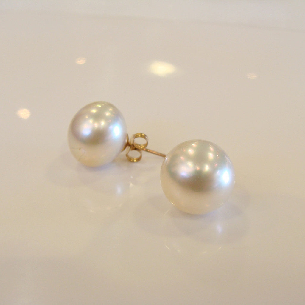 Pearl Earrings Studs - Broome Staircase Designs Pearl Gallery