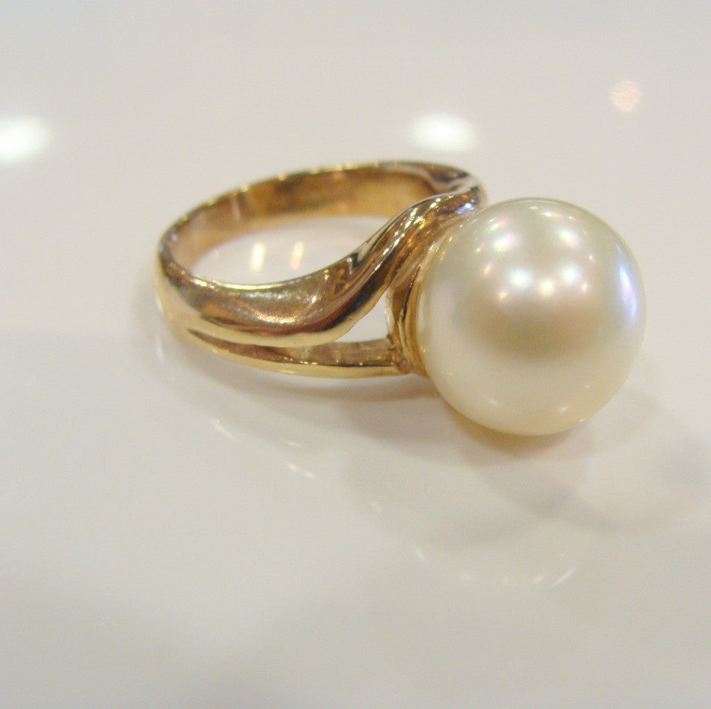 9ct Broome Pearl Ring - Broome Staircase Designs Pearl Gallery - 1