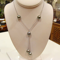 Australian South Sea Pearl Necklace - Broome Staircase Designs Pearl Gallery - 1