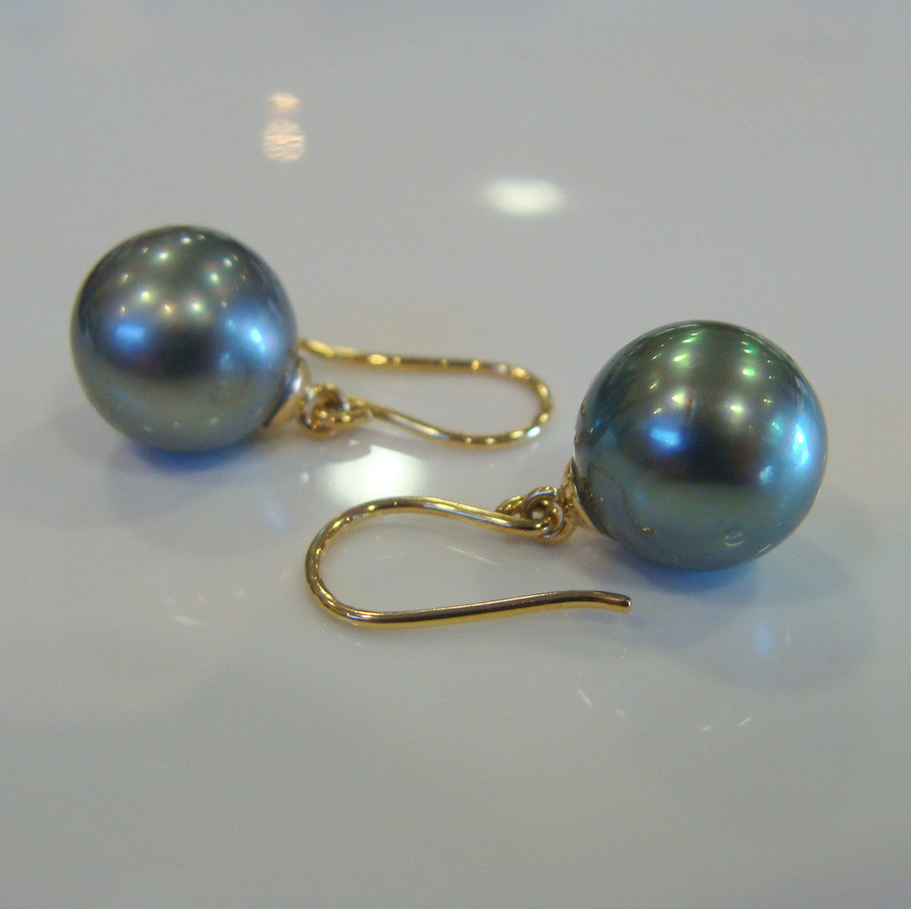 Tahitian Pearl Earrings - Broome Staircase Designs Pearl Gallery - 1
