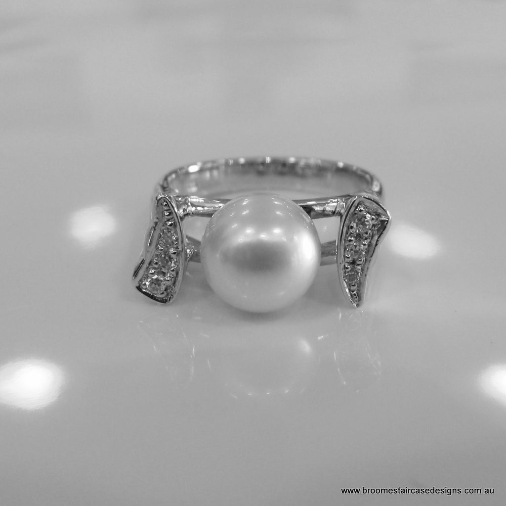 Broome Pearl Ring - Broome Staircase Designs Pearl Gallery - 1