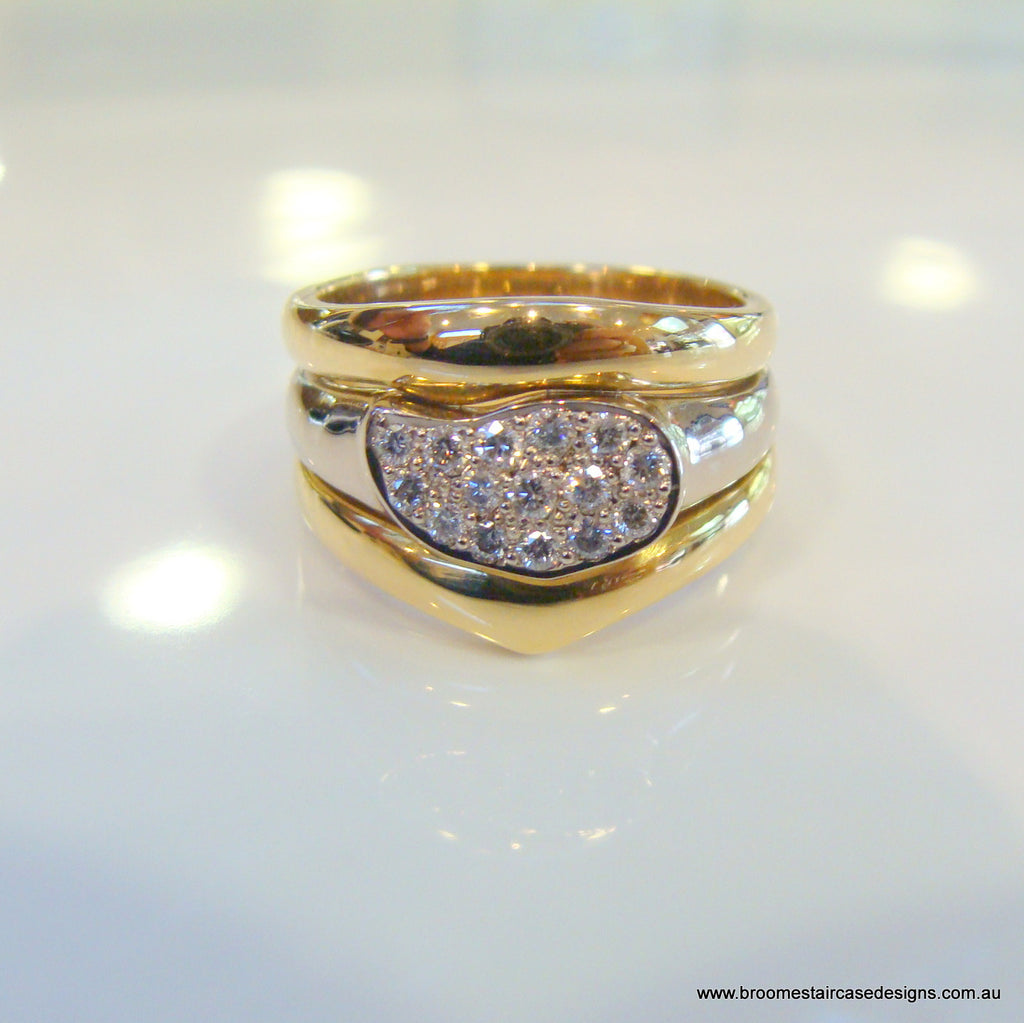 Diamond Engagement/Dress Rings - Broome Staircase Designs Pearl Gallery - 1