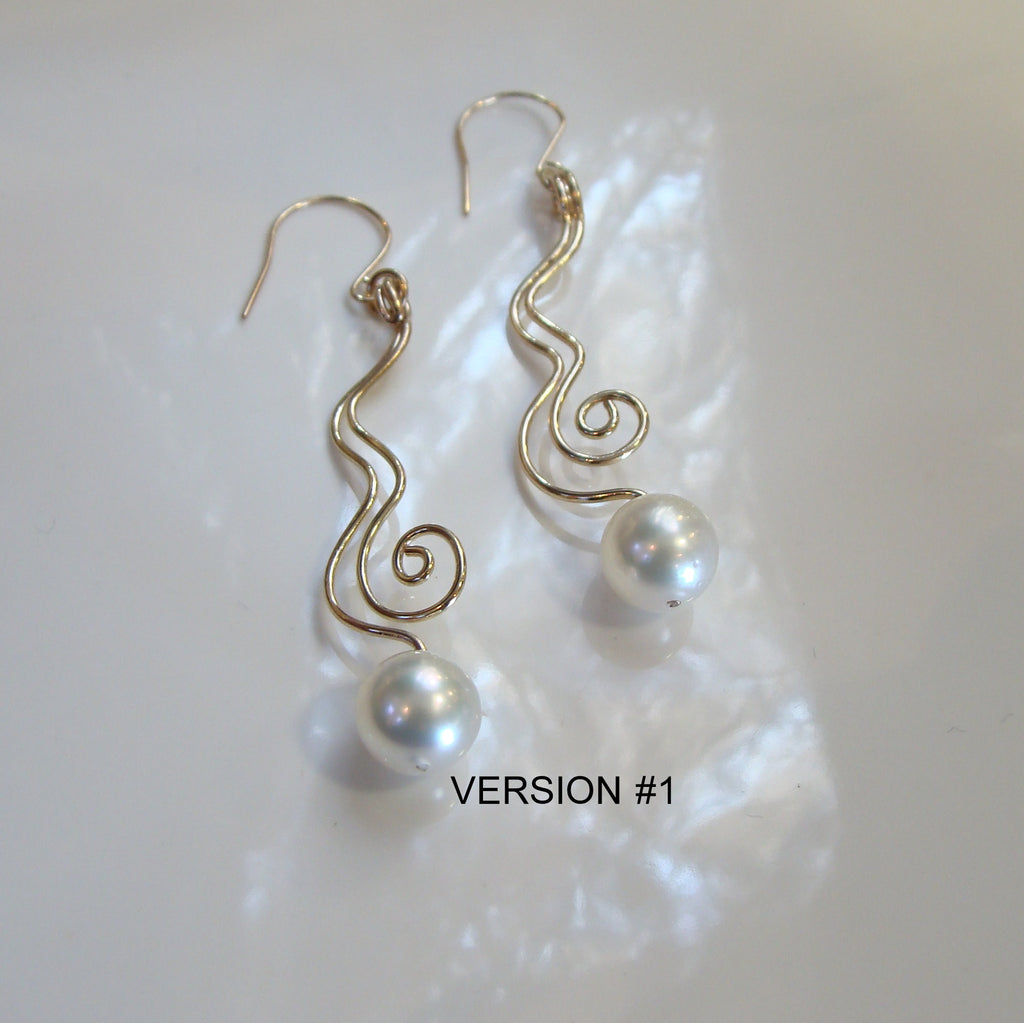 Broome Pearl Staircase Earrings 9cty - Broome Staircase Designs Pearl Gallery - 1