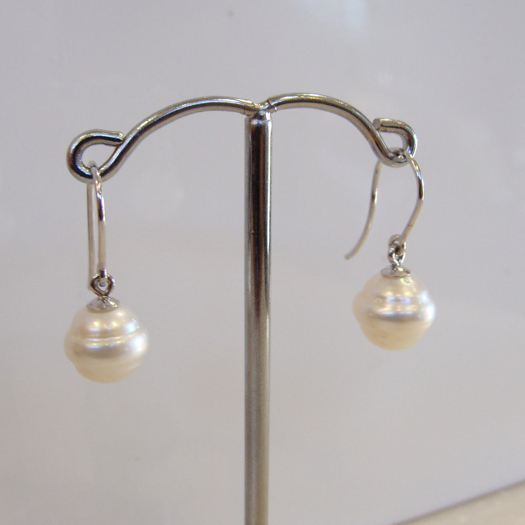 Broome Pearl Earrings 9ctw - Circle - Broome Staircase Designs Pearl Gallery