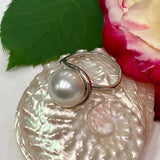 Broome Pearl Ring 925 Sterling Silver