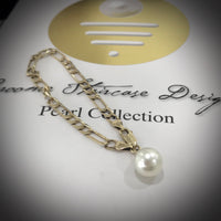 9ct Gold Broome Pearl Bracelet