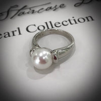 Broome Pearl Ring Sterling Silver