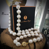 Cultured Freshwater Pearl Strand Necklace and Bracelet
