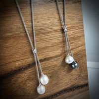 Sterling Silver South Sea Pearl Necklace