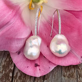 Baroque Pearl Hook Earrings