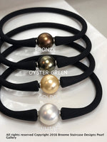 Easy Fit Shell Pearl Silicone Bracelet
