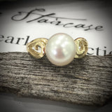 9ct Gold Broome Pearl Ring