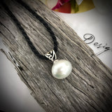 Broome Pearl Pendant Sterling Silver