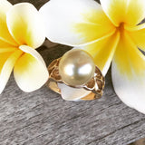 Broome Pearl 9ct Yellow Gold Ring