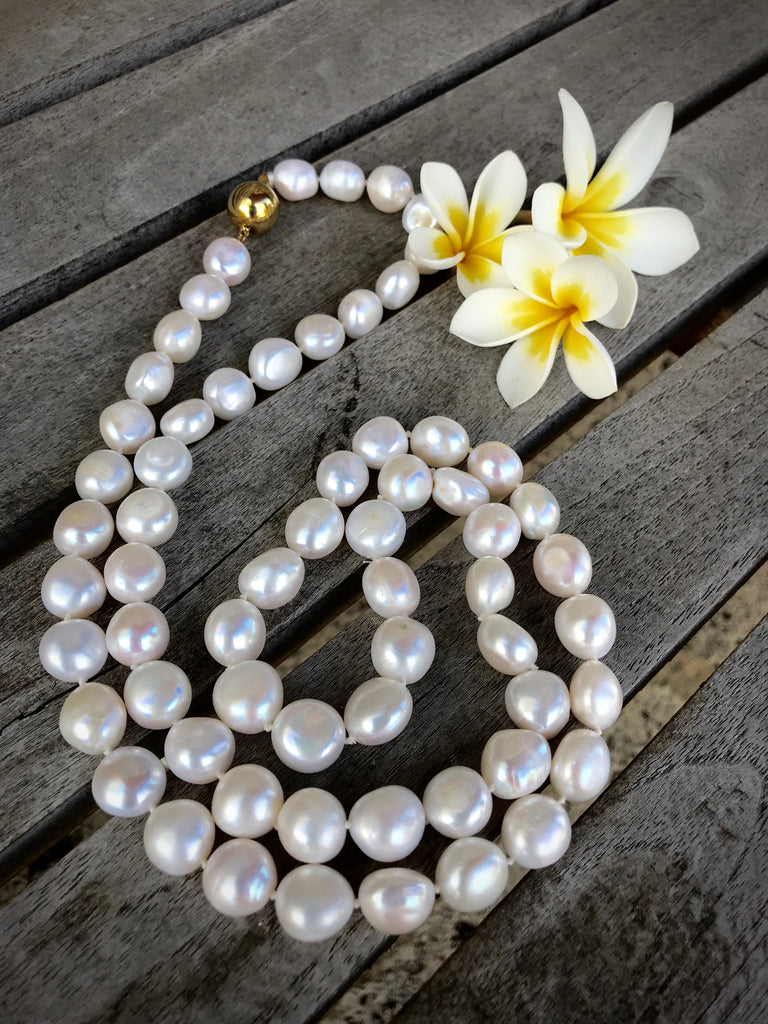 99ct Cultured Freshwater Keshi Pearl Opera length Strand