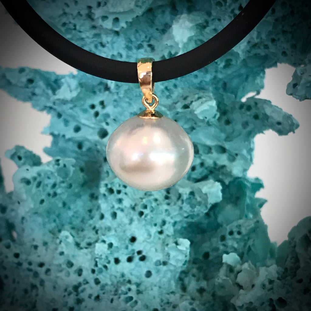 9ct Broome Pearl Pearl Pendant
